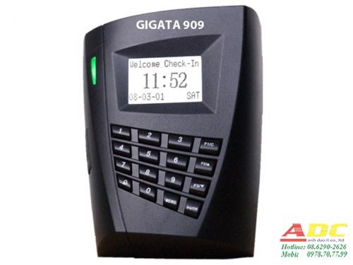 Máy chấm công và kiểm soát cửa bằng thẻ GIGATA 909